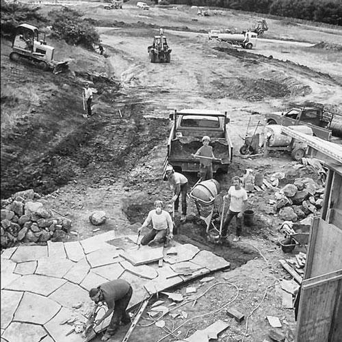 Construction of the Chapel